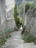 Steps down from Pontone to Amalfi