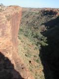 Kings Canyon sheer drop