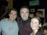 James & Julia with Karl Kennedy from Neighbours
