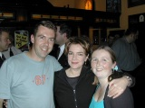 James & Julia with Lyn Scully from Neighbours