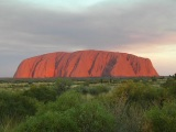Uluru - Ayer's Rock sunset
