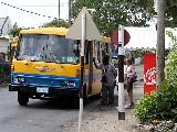 Yellow fun bus