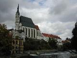 Cesky Krumlov Cathedral