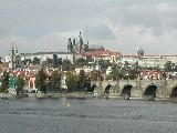 Prague Castle, St Vitus' Cathedral and Charles Bridge, Prague