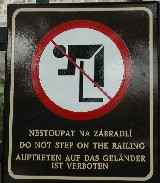 Ooof! Cesky Krumlov bear pit, Czech Republic